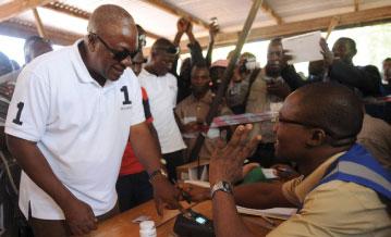 Ghana Presidential Elections 2012