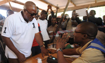 Ghana Presidential Elections 2012
