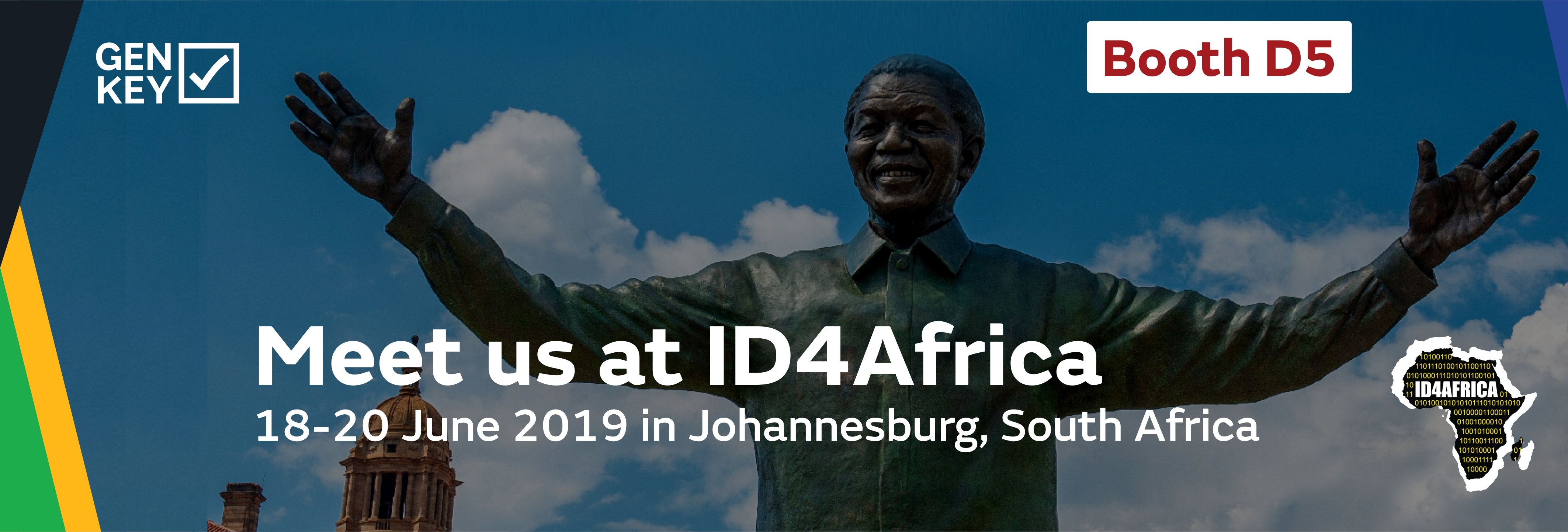 GenKey to showcase Privacy by Design technologies at ID4Africa 2019